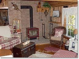 country cabin decor a log cabin in canada