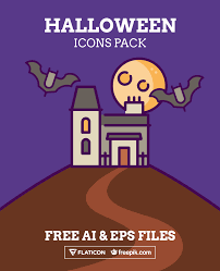 free halloween graphic icon pack for free halloween collection