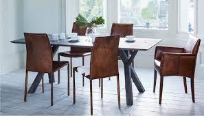 Dining Room Sets 4 Chairs by Heal U0027s Arbori Dining Table 4 6 Seater Grey Wash Wild Oak