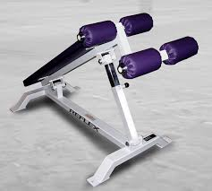 adjustable decline sit up bench reflex fitness products