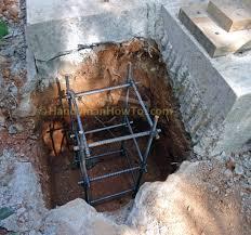 Deck To Patio Transition Concrete Slab Repair