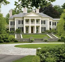 home design southern plantation plans this neo classical mansion