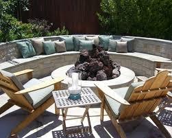 Circle Patio Furniture by Teak Semi Circle Outdoor Bench Houzz