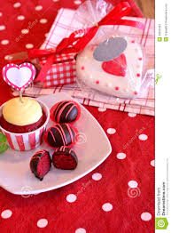red velvet cake pops stock photo image 43202403