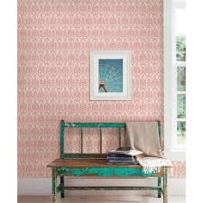norwall red rose trellis wallpaper pp27727 the home depot