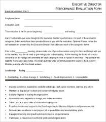 performance evaluation form 10 free word pdf documents