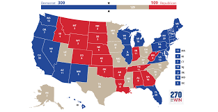 2016 Presidential Map 2016 Presidential Election Interactive Map