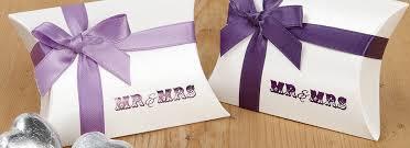 purple wedding favors celebrations colour purple or violet wedding favours