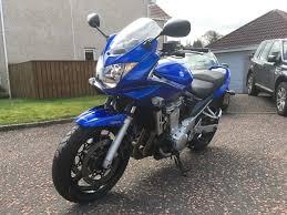 sold 2007 blue suzuki bandit gsf 650 sa k7 abs in dunblane