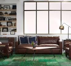Distressed Leather Sofa Brown Best 25 Distressed Leather Sofa Ideas On Pinterest Distressed