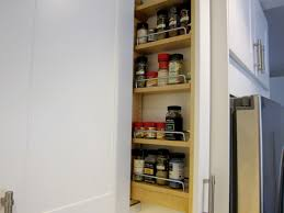 spice cabinets for kitchen custom diy spice rack in your ikea kitchen the la lady