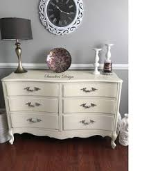 shabby chic dresser with mirror by saundersdesign on etsy