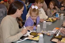 thanksgiving lunch at putnam school news sports