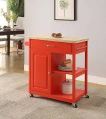 mobile kitchen island butcher block oliver and smith nashville collection mobile kitchen island