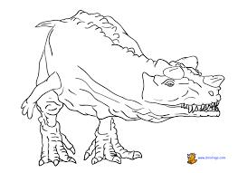 dinosaur 3 coloring dino lingo blog