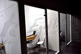 vitrophanie bureau décoration de vitres intérieures osmoze