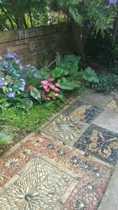 1518 best pebble mosaics for the garden images on pinterest