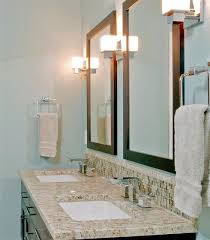 Bathroom Vanity Backsplash by Bathroom Glass Tile Vanity Backsplash Installation In Fort Collins