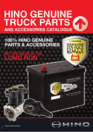 hino truck u0026 bus parts catalogue q1 2015
