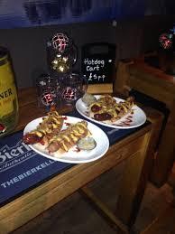 food it was christmas in july as the bierkeller nottingham
