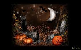 animated halloween desktop wallpaper cute free wallpaper and screensavers wallpapersafari