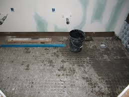 Preparing A Shower Floor For Tile by Stucco Houseongreenwood
