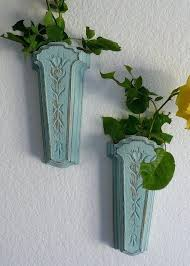 Vase Wall Sconce Creative Vase Sconce Vintage Wall Pockets Shabby Chic Wall Sconces