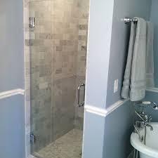 Single Frameless Shower Door Single Glass Frameless Shower Door Showerdoors Inc