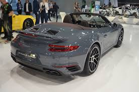 grey porsche 911 turbo file porsche 911 turbo s cabriolet tył msp16 jpg wikimedia