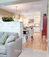 kitchen open to dining room open concept family den kitchen dining room in contemporary home