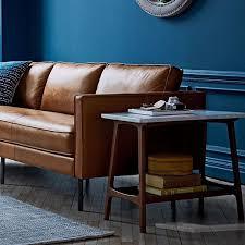 west elm reeve coffee table reeve mid century side table marble mid century marbles and
