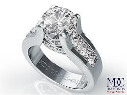 nyc wedding band engagement ring modern bridal set diamond engagement ring