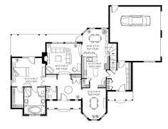 French Country Floor Plans Wilshire Westminster House Plan 04334 1st Floor Plan French