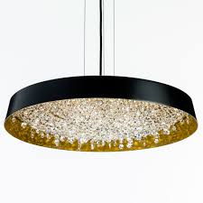 Circular Crystal Chandelier Contemporary Circular Crystal Chandelier Juliettes Interiors