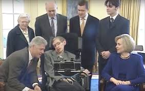 file stephen hawking and clintons in white house march 5 1998 04