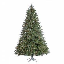 donner blitzen incorporated 7 5 pre lit montana fir tree with