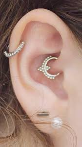 cartilage earrings canada boho ear piercing ideas cartilage earring tribal daith rook ring