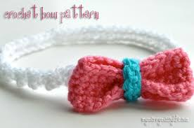 crochet hair bows 25 free easy crochet bow patterns and tutorial