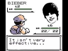 Pokemon Battle Meme - a wild bieber appeared fake pokémon battles know your meme