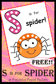 insect bug u0026 spider themed free preschool printables