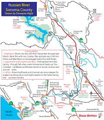 Alaska Rivers Map by Russian River Steelhead Run Rebounds This Year