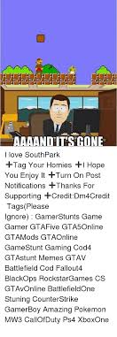 South Park And Its Gone Meme - 25 best memes about aaaand its gone aaaand its gone memes