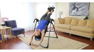body bridge inversion table teeter hang ups ep 560 premium inversion table video gallery