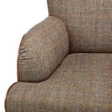 Tweed Armchair Buy Tetrad Harris Tweed Lewis Armchair Bracken Tan John Lewis