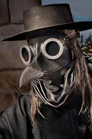 plague doctor mask rubble ichabod steunk plague doctor mask in black by tombanwell