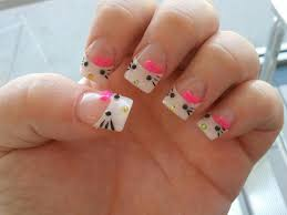 55 example of trendy hello kitty nail art golfian com