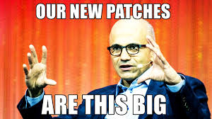 Roll Up Meme - huge change to patch tuesday it admins are revolting updated