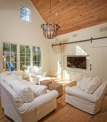 Paint Wood Paneling White Good Looking Couch Slip Covers In Family Room Shabby Chic With