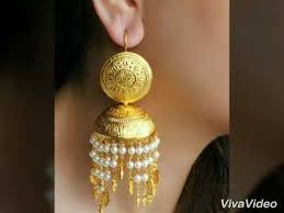 lotan earrings traditional punjabi earrings