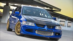 mitsubishi blue blue sporty mitsubishi lancer evolution ix wallpapers and images